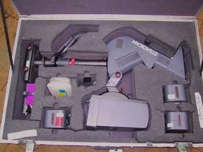 Steadicam Master Series in Anvil case